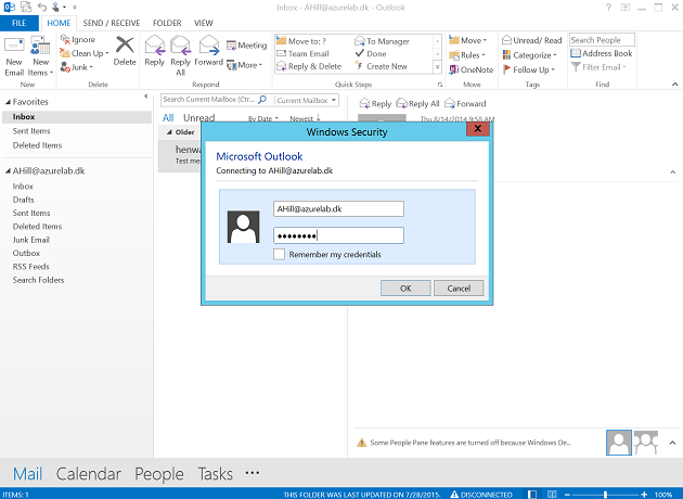 how to change outlook 365 password when expired