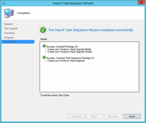 Performing Windows 10 in-place upgrades with ConfigMgr 2012