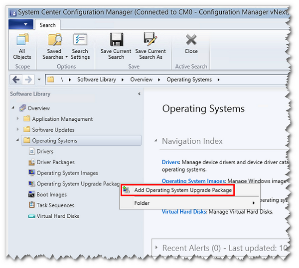 Performing Windows 10 in-place upgrades with ConfigMgr TP3