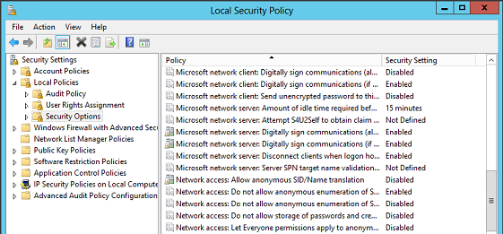Top 2012 Windows Security Settings Which Fail to Be Configured Correctly