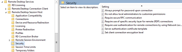 Microsoft RDS Policies explained (Part 4)