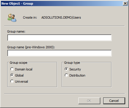 Active Directory Security Groups (Windows 10) | Microsoft Docs