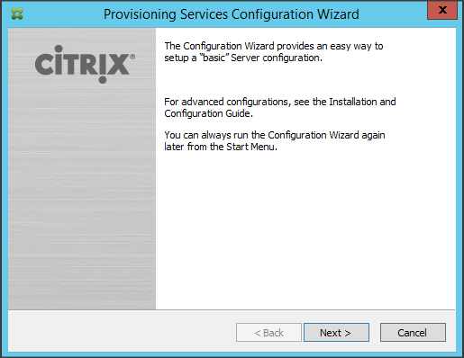 Installing and Configuring Citrix Provisioning Services 7 6 (Part 2)