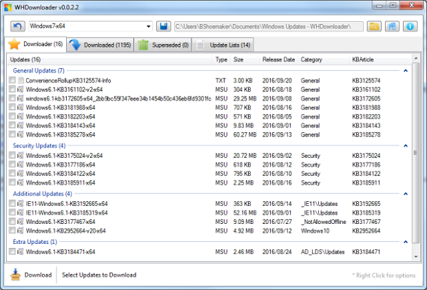 Creating a fully updated Windows 7 image (Part 1)