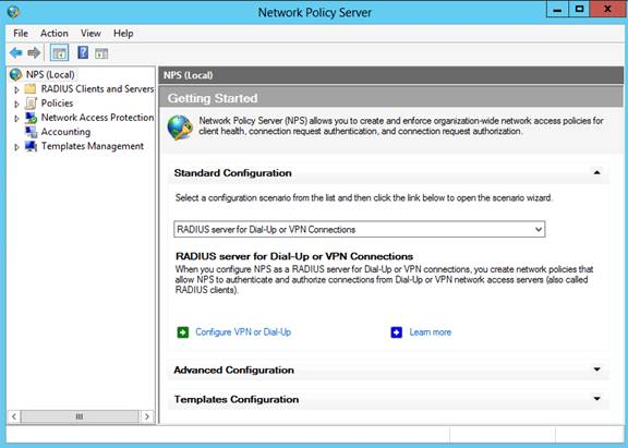 Understanding and Configuring Network Policy and Access