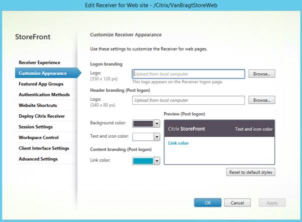 Installing and configuring Citrix StoreFront 3 5 (Part 2)