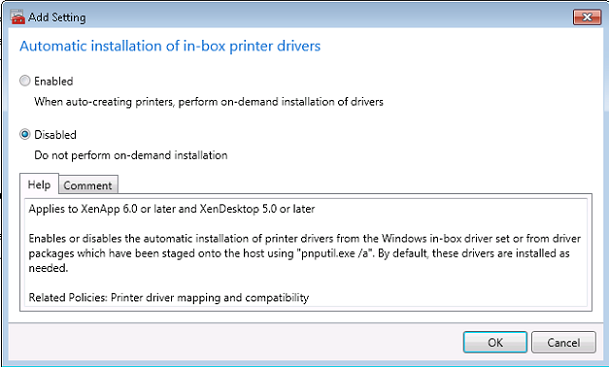How to configure Microsoft RDS Universal Printing