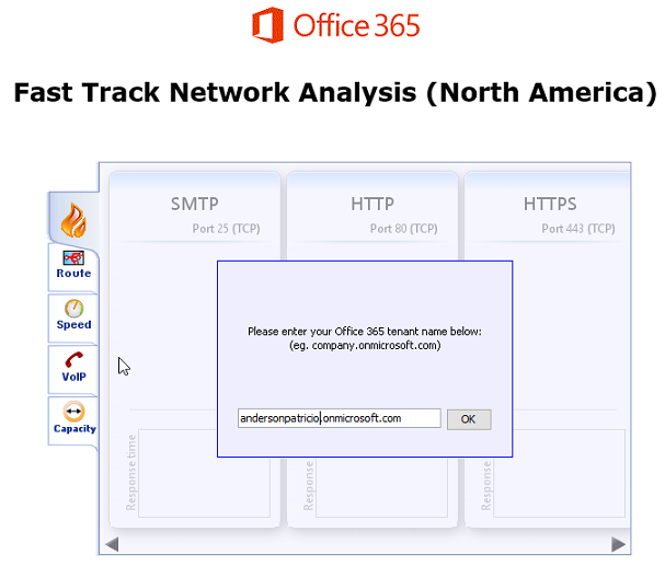 Measuring and validating network bandwidth to support Office