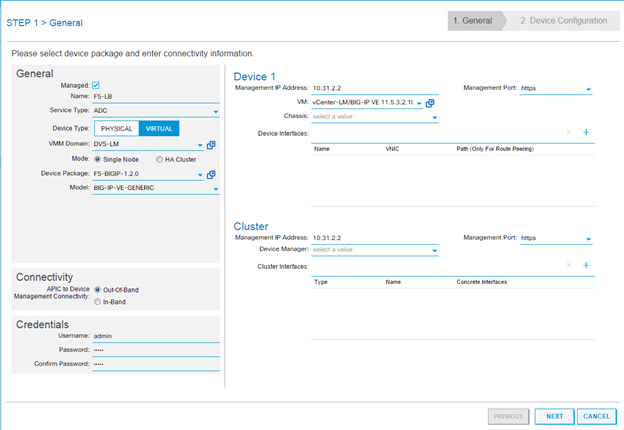 Using F5 Big IP Load Balancer Virtual Edition with Cisco ACI (Part 1)