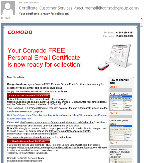 Email Security With Digital Certificates Part 5