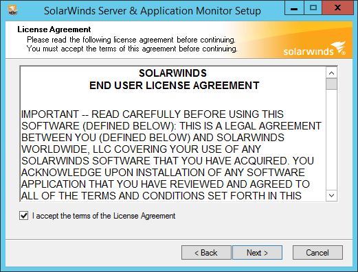 Product Review: SolarWinds Server & Application Monitor