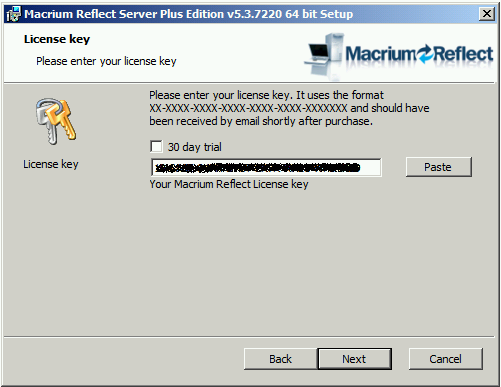 macrium reflect 64 bit license key