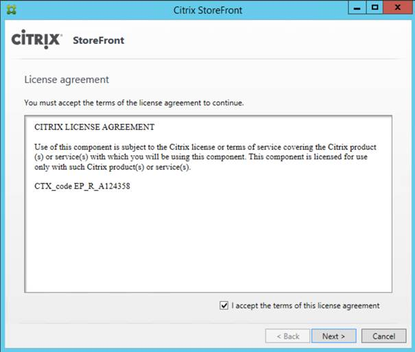 Installing and configuring Citrix StoreFront 3 5 (Part 1)