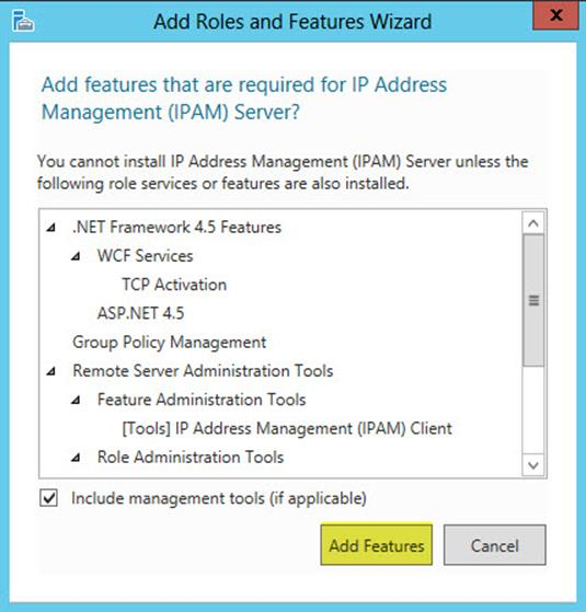 Windows Server 2012 IP Address Management
