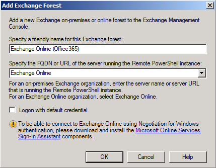 Configuring an Exchange Hybrid Deployment Migrating to Office 365