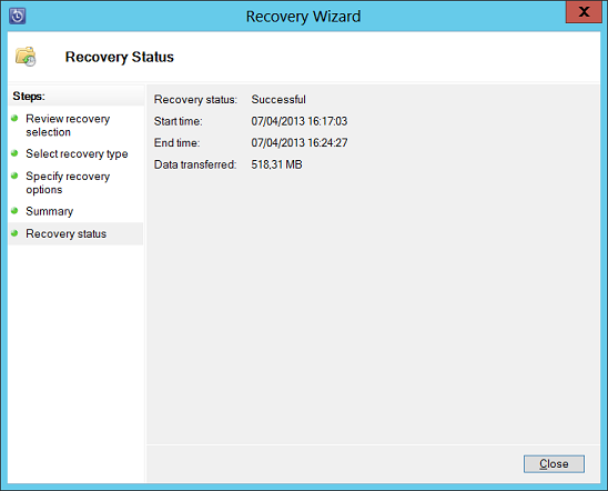 continuous backup for exchange server 2013 with dpm 2012