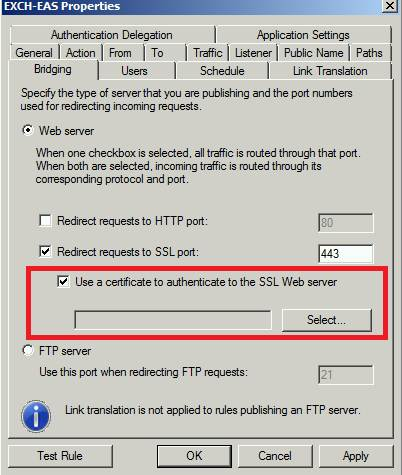Figure 6: Client certificate in HTTPS bridging scenarios