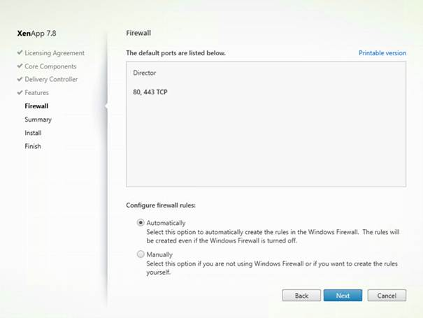 Citrix Director - Installation and using the product