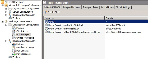 Configuring an Exchange Hybrid Deployment Migrating to