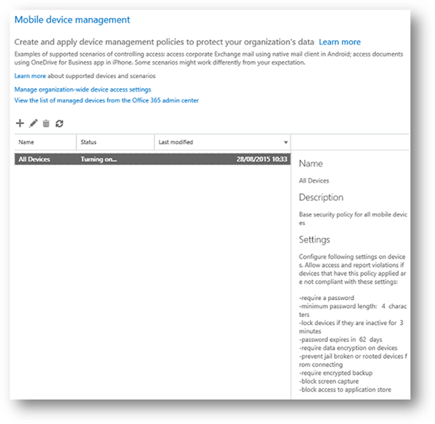 Mobile Device Management in Exchange Online (Part 2)
