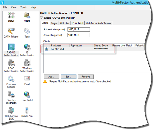Configure Windows Azure Multi-Factor Authentication with Forefront