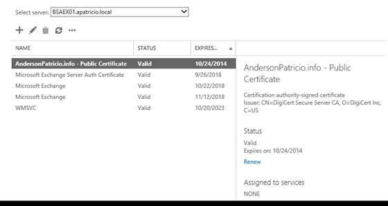 Managing Certificates in Exchange Server 2013 (Part 3)