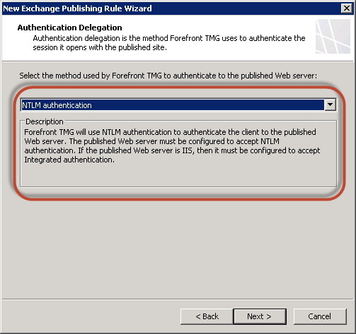 how to set iis to ntlm authentication for owa