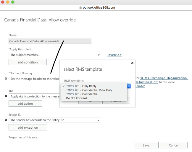 Configuring Custom Rms Templates In Microsoft Azure And Exchange Online