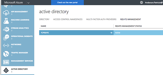 Configuring Custom RMS Templates in Microsoft Azure and