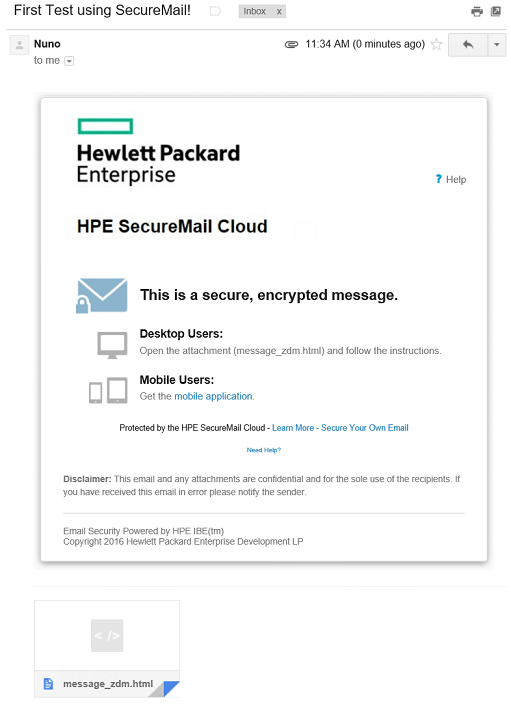 HPE SecureMail Cloud Product Review